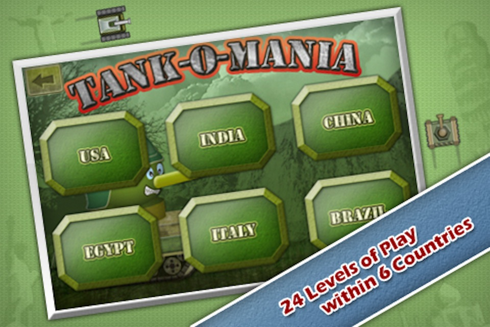 Screenshot Tank-O-Mania: War of Wonders